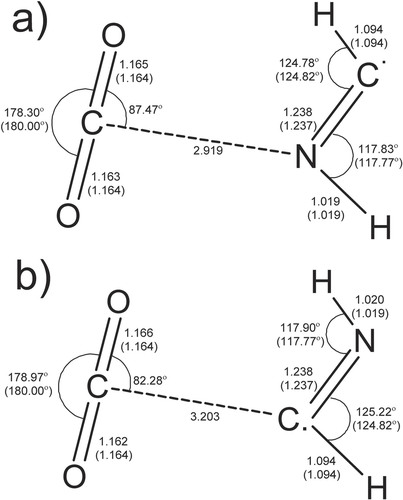 Matrix isolation and ab initio study on HCN/CO2 system and