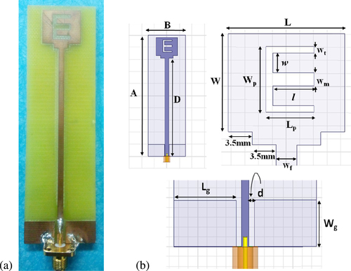 Design and characterization of microstrip based E-field