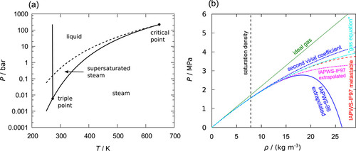 Thermodynamics of supersaturated steam: Molecular simulation results