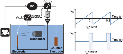 Tunable microbubble generator using electrolysis and