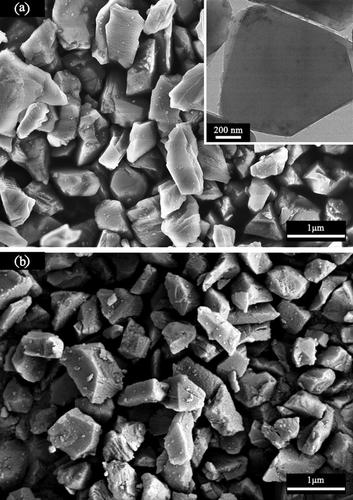 Preparation of superhard cubic boron nitride sintered from