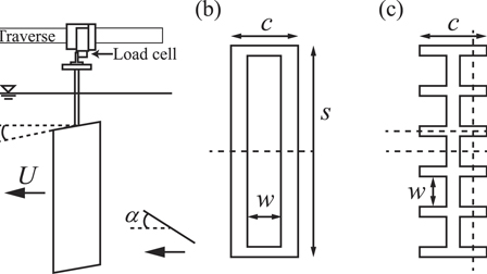 Aerodynamics of a translating comb-like plate inspired by a fairyfly