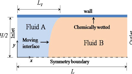 Numerical investigations of electrothermally actuated moving
