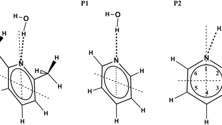 Complexation reactions in pyridine and 2,6-dimethylpyridine