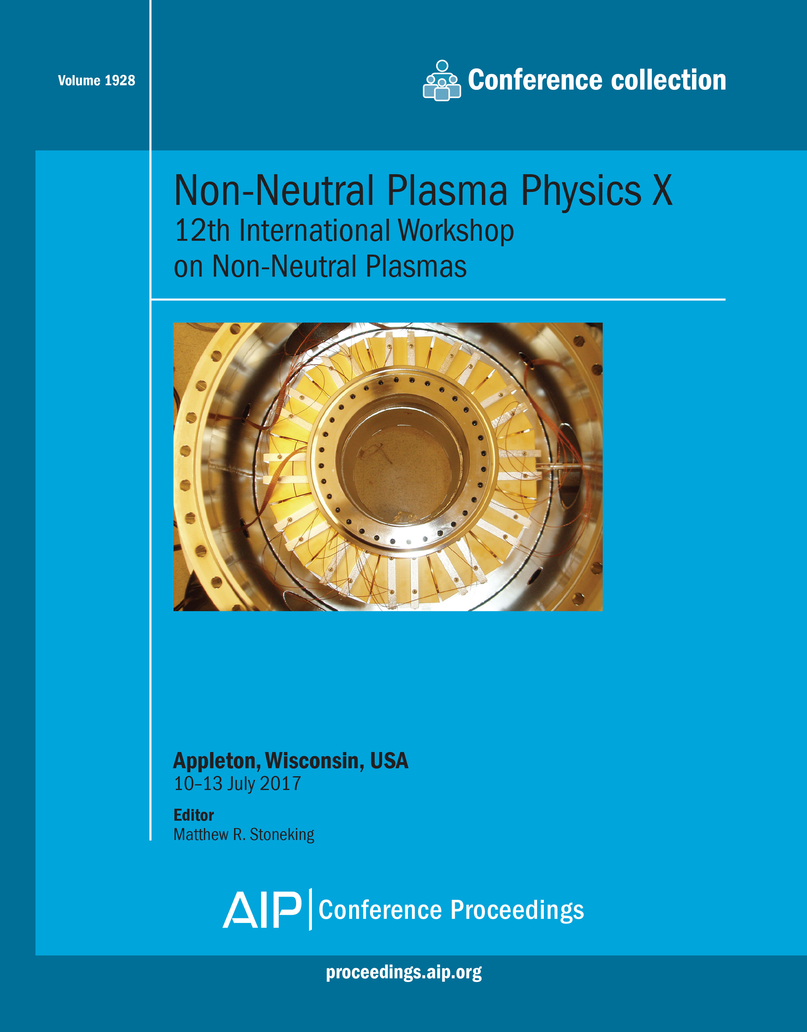 Conference Photo: Non-Neutral Plasma Physics X: AIP