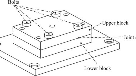 Dynamic modeling method of the bolted joint with uneven
