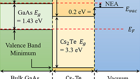 Rugged spin-polarized electron sources based on negative electron
