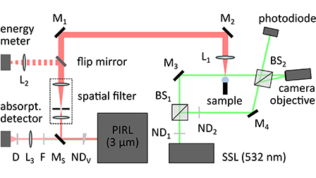 Digital interference microscopy and density reconstruction