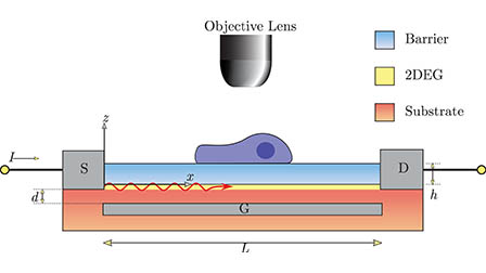 Deep subwavelength imaging via tunable terahertz plasmons