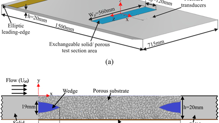 Boundary layer flow interaction with a permeable wall