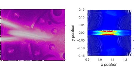 QnA VBage Effects of propagation distance and half angle on the merging of hypervelocity plasma jets