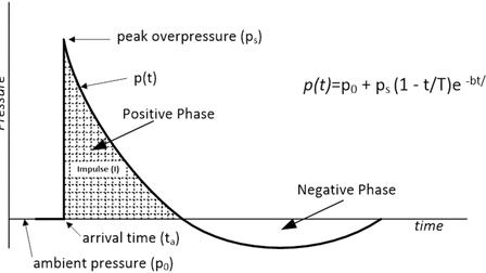 Characterization of a controlled shock wave delivered by a pneumatic