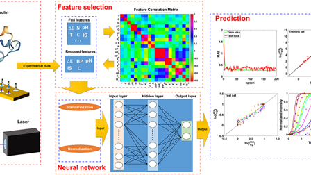 Prediction of amyloid aggregation rates by machine learning