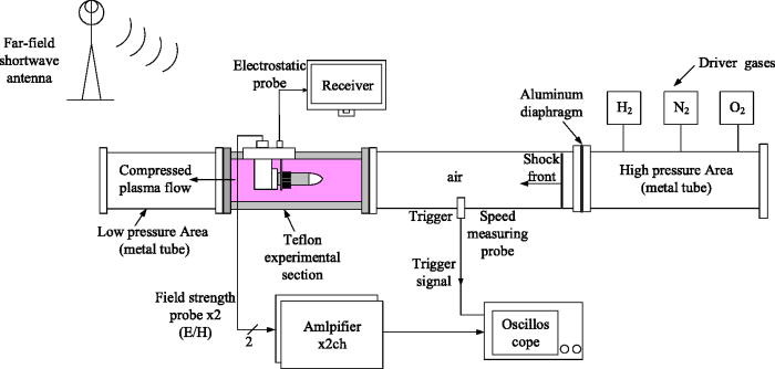 Modeling and experimental study of low-frequency electromagnetic